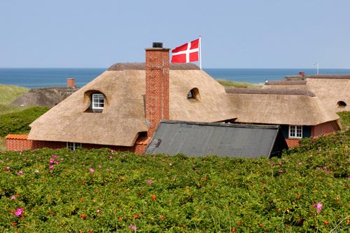 Nordseeurlaub Dänemark an der Ho Bucht bei Blaavand